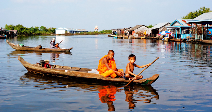 Life on Tonle Sap Lake